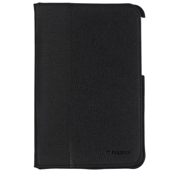 IT Baggage чехол для Acer Iconia Tab B1-710/711, BlackITACB102-1Чехол IT Baggage для Acer Iconia Tab B1-710/711 - это стильный и лаконичный аксессуар, позволяющий сохранить планшет в идеальном состоянии. Надежно удерживая технику, обложка защищает корпус и дисплей от появления царапин, налипания пыли. Также чехол IT Baggage для Acer Iconia Tab B1-710/711 можно использовать как подставку для чтения или просмотра фильмов. Имеет свободный доступ ко всем разъемам устройства.