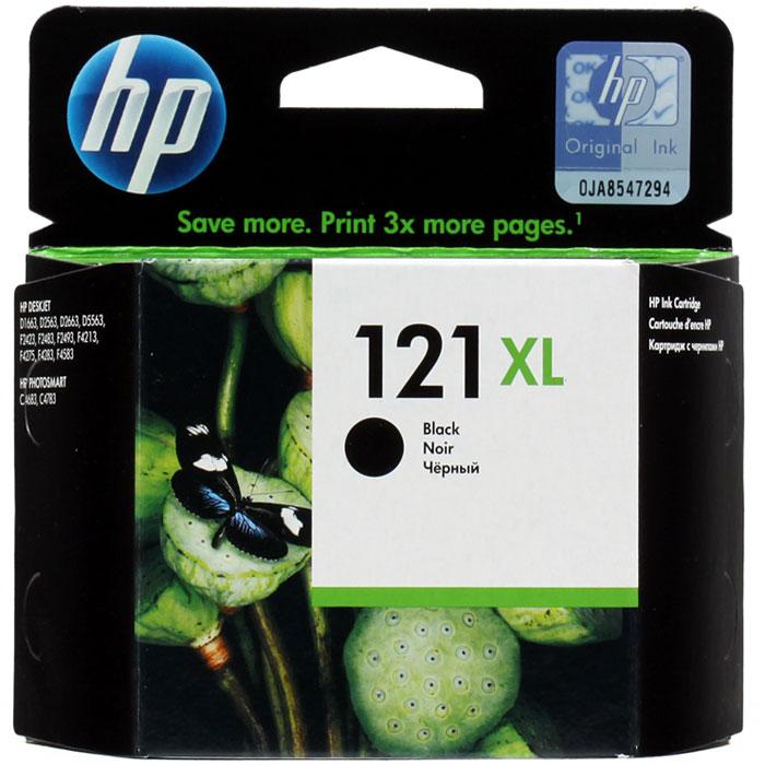 HP CC641HE (121XL), Black струйный картриджCC641HEЧерный картридж HP 121XL печатает документы и изображения лазерного качества, которые противостоят выцветанию. Этот оригинальный картридж повышенной емкости НР лёгок в установке и использовании.