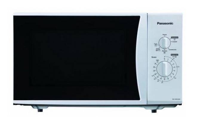 Panasonic NN-GM342WZPE Микроволновая печьNN-GM342WZPEНебольшие габариты СВЧ печи позволят установить печь в любом месте кухни