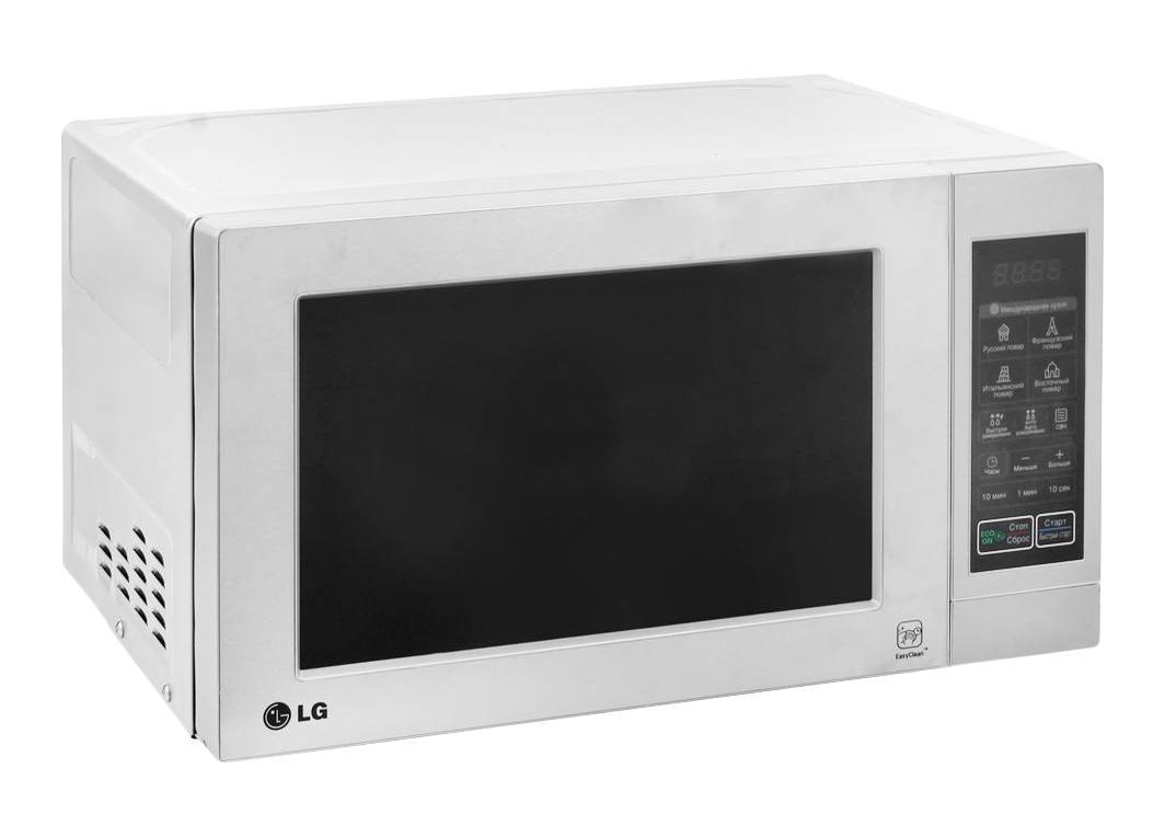 LG MS2044V СВЧ-печьMS-2044VМикроволновая печь LG MS2044V с уникальной технологией эффективного распределения микроволн I-wave обеспечит равномерный разогрев блюд. А еще эта модель имеет в арсенале программ автоматическое приготовление, автоматический разогрев и быструю разморозку. Все эти возможности микроволновки LG MS2044V позволят вам сэкономить время на кухне и потратить его с пользой для вашей семьи.