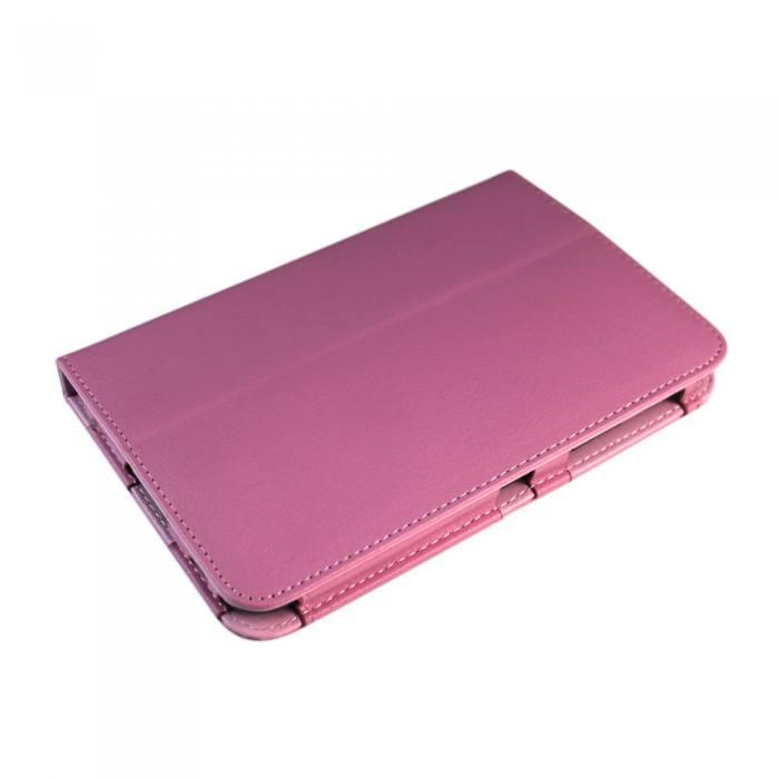 IT Baggage чехол для Samsung Galaxy Tab 2 7.0, PinkITSSGT7202-3IT Baggage для Samsung Galaxy Tab 2 7.0 - чехол-книжка с возможностью фиксации в горизонтальном положении. Предназначен для планшета Samsung P3100/3110, но можно использовать и для предыдущей модели P6200/6210. Обложка хорошо защищает поверхность экрана от механического повреждения, пыли или грязи. Даже при частом использовании в нём вашего планшетного компьютера, его хватит на несколько лет.