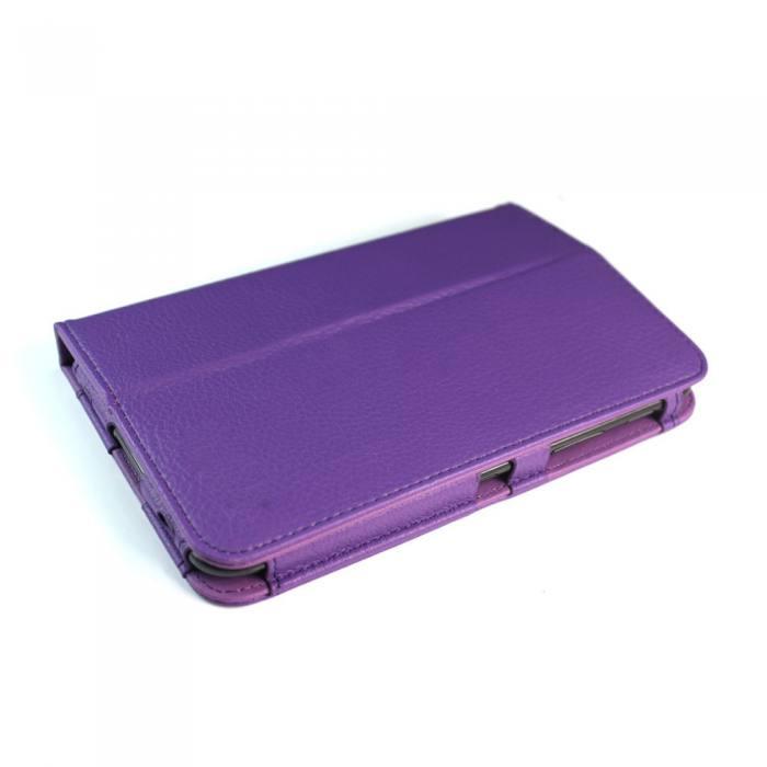 IT Baggage чехол для Samsung Galaxy Tab 2 7.0, PurpleITSSGT7202-4IT Baggage для Samsung Galaxy Tab 2 7.0 - чехол-книжка с возможностью фиксации в горизонтальном положении. Предназначен для планшета Samsung P3100/3110, но можно использовать и для предыдущей модели P6200/6210. Обложка хорошо защищает поверхность экрана от механического повреждения, пыли или грязи. Даже при частом использовании в нём вашего планшетного компьютера, его хватит на несколько лет.