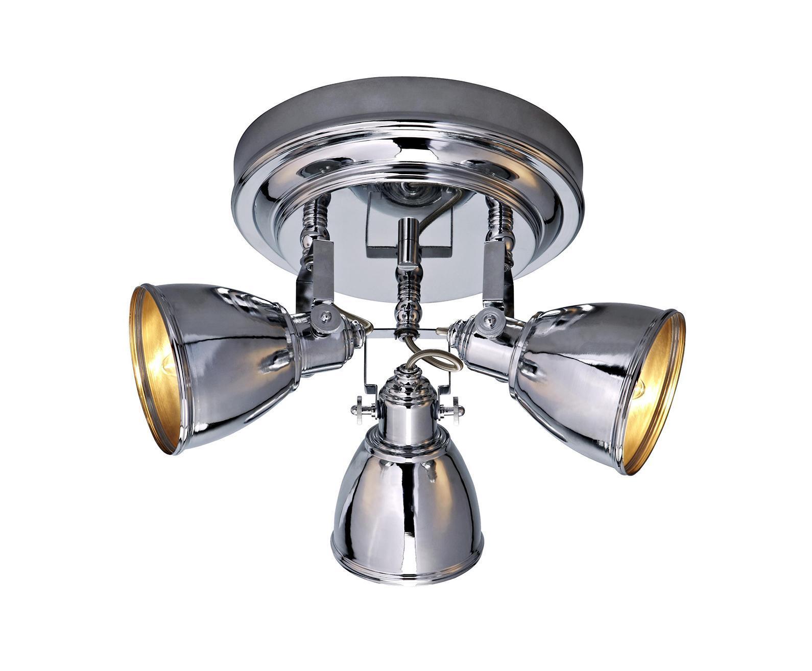 Потолочный светильник 104051, FJALLBACKA104051104051 Потолочный светильник, FJALLBACKA, хром, E14 3*40WW