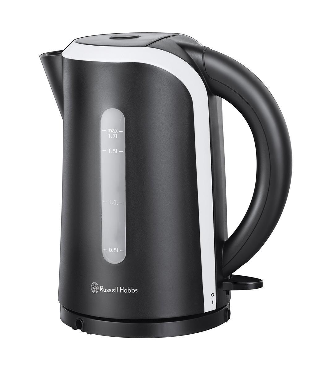 Russell Hobbs 18534-70 электрочайник18534-70Чайник Russell Hobbs 18534-70 Mono. Выполненный в яркой черно-белой палитре, этот чайник сочетает дизайн с инновациями и станет стильным дополнением на вашей кухне.