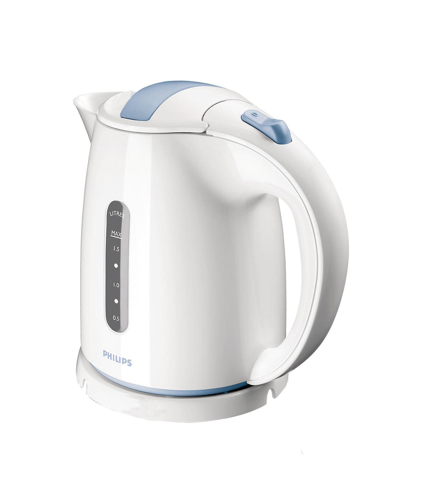 Philips HD 4646/70HD4646/70Фильтр от накипи обеспечивает чистоту воды и чайника. Беспроводная подставка с поворотом на 360 ° для удобства использования. Широко открывающаяся откидная крышка для удобного наполнения и очистки исключает контакт с паром. Индикаторы уровня воды по обеим сторонам электрического чайника Philips будут удобны и для правшей, и для левшей. Наполнить чайник можно через носик, или открыв крышку.
