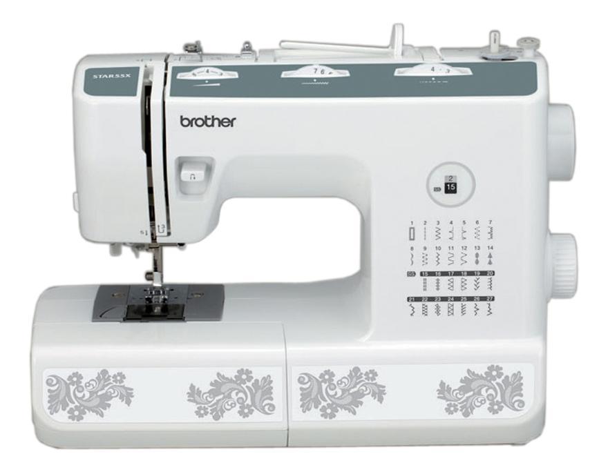 Brother Star-55x, White швейная машина790079