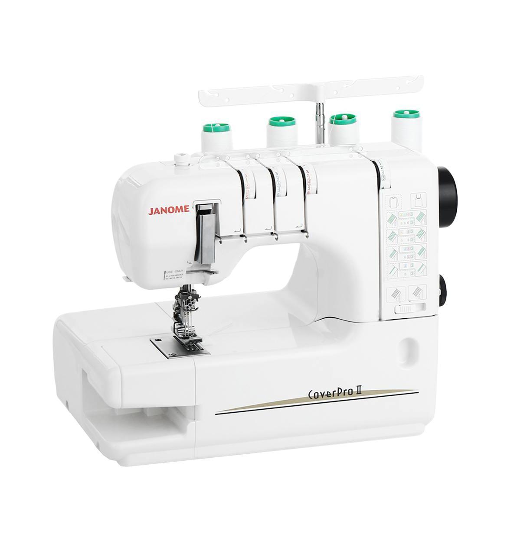 Janome Cover Pro 2 распошивальная машинаCover Pro 23/4-х ниточная, 2/3-х игольная распошивальная машина