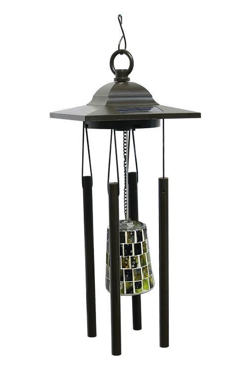 Садовый светильник-колокольчик КОСМОС на солнечных батареях, Поющий ветер, KOC_SOL360KOC_SOL360