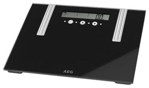 AEG PW 5571 FA Glas, 6 in 1 напольные весыPW 5571 FAAEG PW 5571 FA Glas, 6 in 1 - диагностические напольные весы с платформой из стекла. Особенности: Память до 10 пользователейЕдиницы измерения: кг, фунтыОпределение доли воды: 20-75%Определение доли жировой ткани: 1-60%Определение доли мышечной ткани: 10-50%Высококачественный дисплей большой четкостиАвтоматическое включение при наступании и автоматическое отключениеНескользящие ножки, ручка для переноски