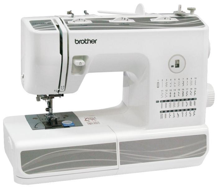 Brother Classic 40 швейная машинаClassic 4037 операций, петля-автомат, горизонтальный челнок, нитевдев.