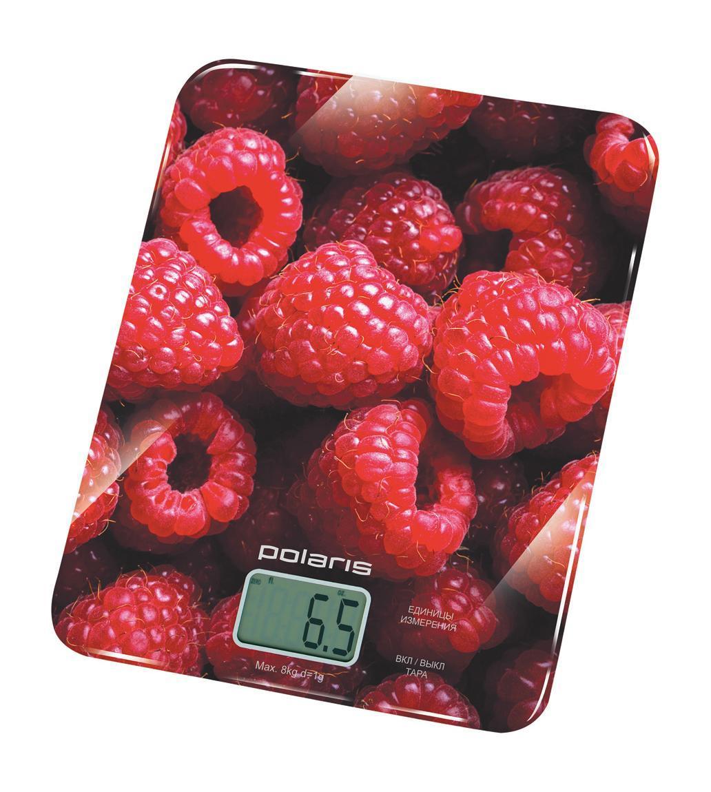 Polaris PKS 0832DG Raspberry кухонные весы