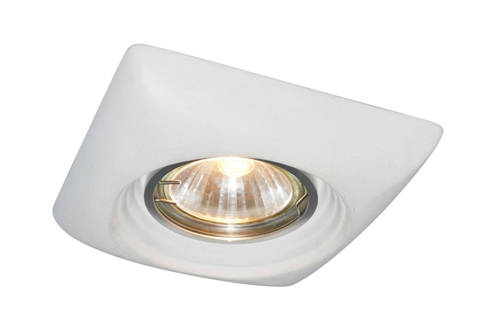 A5246PL-1WH CRATERE Встраиваемый светильникA5246PL-1WH1x50W; патроны GU10 и G5,3 в комплекте Материал: Арматура: КерамикаРазмер: 110x110x42Цвет: Белый