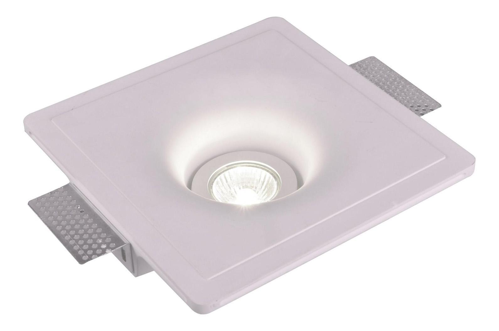 A9410PL-1WH INVISIBLE Встраиваемый светильникA9410PL-1WH1xGU10x35W; Светильник можно красить