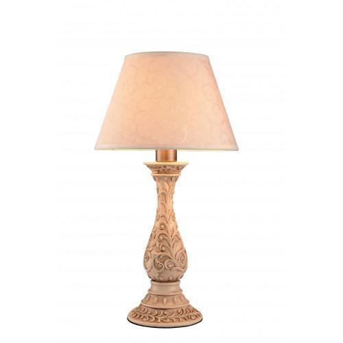 A9070LT-1AB IVORY Настольная лампаA9070LT-1ABОригинальный и стильный светильник, который создаст неповторимую атмосферу у вас в квартире или на даче. Благодаря высококачественным материалам он практичен в использовании и отлично работает на протяжении долгого периода времени. Светильник без мерцания распространяет свет и не вредит вашим глазам. 1xE27 40W Материал: Арматура: Металл / Плафон: Ткань Цвет: Арматура: Античная бронза / Плафон: Белый Размер: 50x28x28