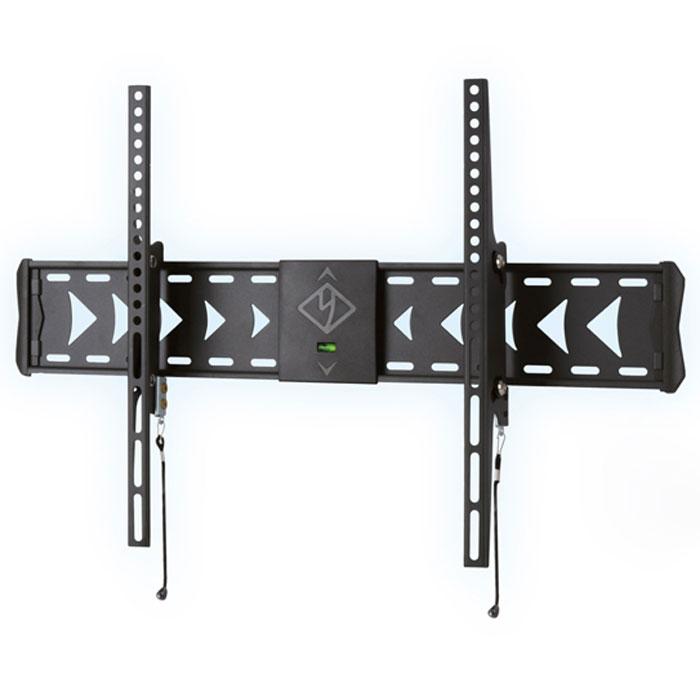 Kromax Flat-2, Grey настенный кронштейн для ТВFLAT-2Настенный наклонный кронштейн FLAT-2 - долгожданная новинка в линейке кронштейнов Flat для LCD\LED-телевизоров и плазменных панелей с диагональю от 32 до 65 дюймов. Позволяет разместить ваш телевизор на минимальном расстоянии от стены (66 мм), при этом создать угол наклона до 12°, что даёт возможность устранить блики на экране и обеспечить комфорт и удобство при просмотре. Максимальные посадочные отверстия по горизонтали - 600 мм, по вертикали - 400 мм.