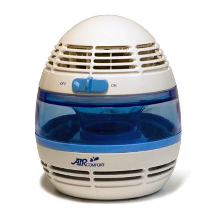 AirComfort HP-900Li увлажнитель-очиститель воздуха00000000052В увлажнителе-очистителе воздуха Air Comfort HP-900LI используется специальный фильтр водяного типа с антибактериальной пропиткой, который эффективно впитывает в себя воду. Вентилятор продувает и прогоняет комнатный воздух через фильтр, который постоянно находится во влажном состоянии, увлажняя и одновременно очищая воздух. Встроенный ионизатор насыщает воздух отрицательными ионами и делает воздух свежее и чище. Встроенный ионизатор Подсветка голубого цвета Экономное энергопотребление Низкий уровень шума Испарительный фильтр с антибактериальной пропиткой Очистка воздуха от крупной взвеси (пыль и т. д.) Элегантный дизайн Ионизация воздуха: 1х103 /см3
