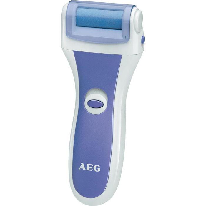 AEG PHE 5642, White Lilac электрическая роликовая пилкаPHE 5642 weis-blauAEG PHE 5642 - машинка для педикюра и удаления мозолей в домашних условиях. Специальное покрытие ролика служит для безболезненного удаления ороговевшей кожи и стимулирования роста новой.