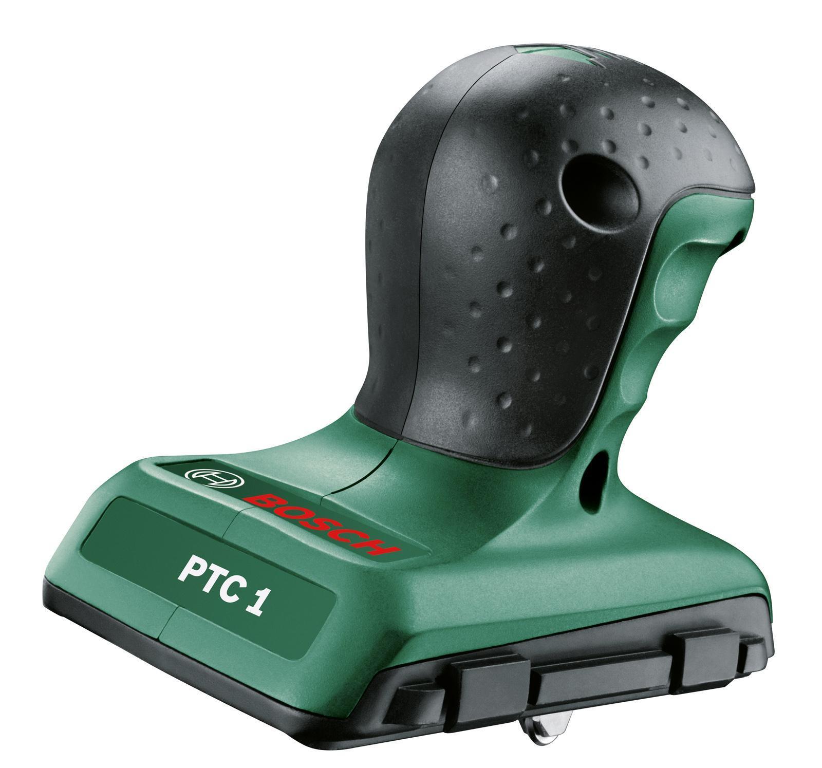 Плиткорез Bosch PTC 1, 300 ммPTC 1С помощью плиткореза Bosch PTC 1 можно без труда выполнять разметку и резку керамической плитки или стекла под углом в диапазоне от –45° до +45°Эргономичность и легкость в использовании.Точное ведение благодаря направляющему каналу.