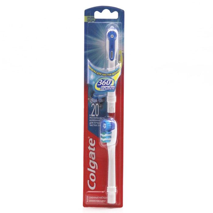 Colgate Комплект сменных насадок к зубной щетке, питаемой от батарей