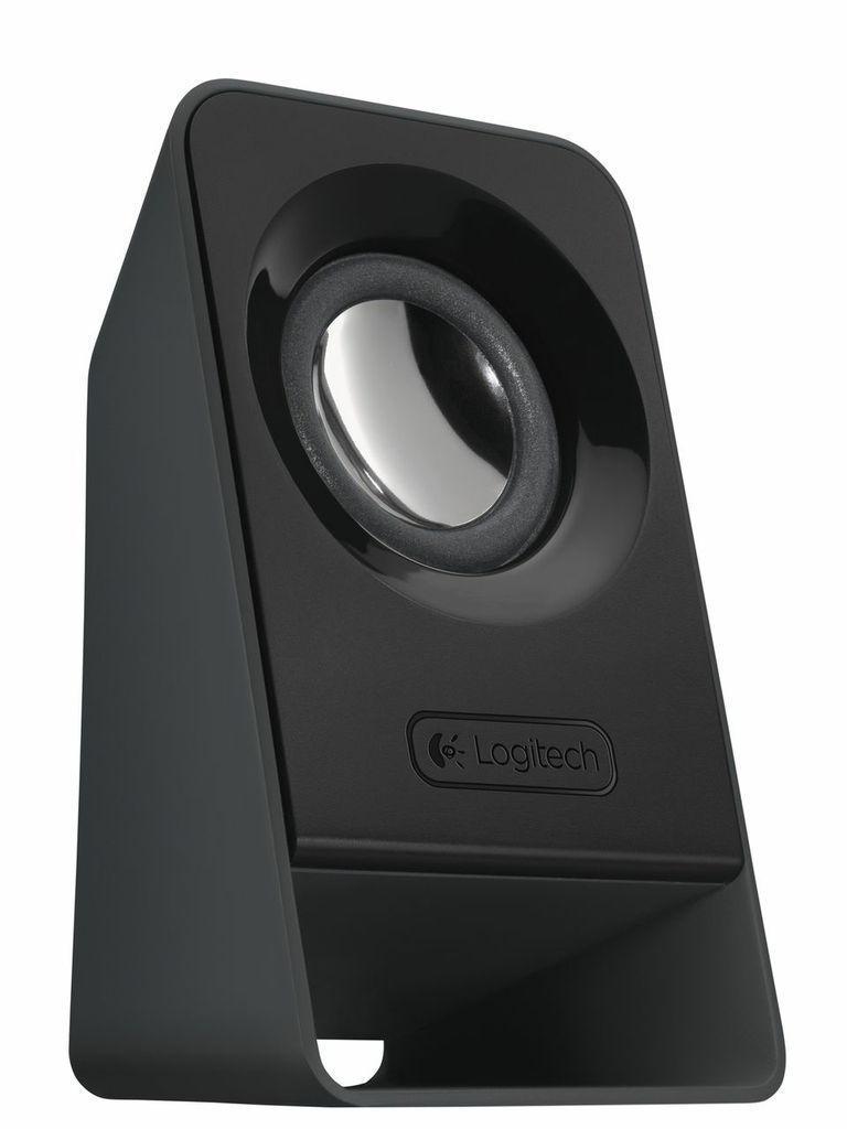Logitech Z213 2.1 (980-000942) акустическая система980-000942Система отличается превосходным качеством звука и не занимает много места на столе. Колонки системы Z213 слегка наклонены для оптимальной передачи звука