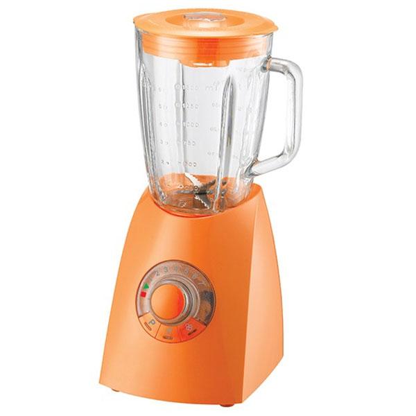 Oursson BL0640G/OR, Orange настольный блендерBL0640G/OR OrangeБлендер Oursson BL0640G – электрический бытовой прибор, предназначенный для измельчения пищи. Особенностью блендера является его конструкция: на основание, в котором расположен двигатель, надевается чаша, в которой работает лопастной нож. С его помощью можно готовить пюре и муссы, колоть лед, взбивать и смешивать напитки. Поворотный переключатель с кнопками поможет выбрать необходимую программу измельчения, а также установить нужную скорость от 1 до 7 или выбрать режим быстрого смешивания. Функция легкой очистки сделает уход за прибором значительнее удобнее и проще.
