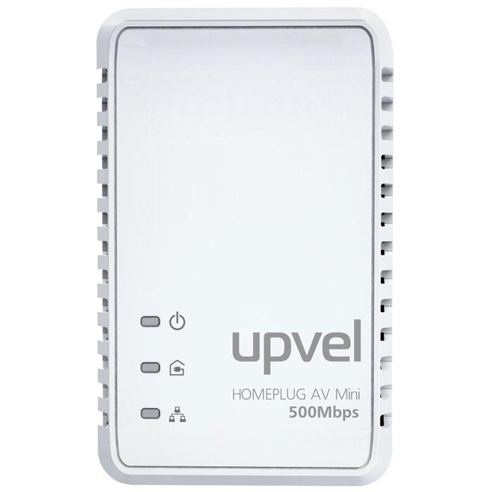 UPVEL UA-251P PowerLine адаптерUA-251PUA-251P соответствует стандарту HomePlug AV и обеспечивает скорость передачи данных 500 Мбит/с по существующей домашней электросети. С кнопкой «Simple Connect» этот адаптер позволяет легко создать домашнюю сеть, не тратя время и деньги на дорогую прокладку кабельных соединений и установку программного обеспечения. Поддержка 128-разрядного аппаратного шифрования AES гарантирует, что связь безопасна и свободна от подслушивания и взлома. UA-251P является лучшим и простейшим решением для того, чтобы объединить в сеть компьютеры, игровые консоли, Blu-Ray плееры или подключить приставку IP TV к роутеру без прокладки новых проводов. Стандарты: IEEE 1901/HomePlug AV Совместим с адаптерами HomePlug 1.0 Удовлетворяет требованиям EuP IEEE 802.3 10/100 Ethernet Поддержка IEEE 802.3az