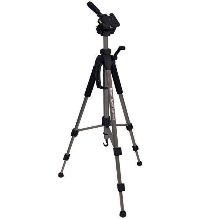 Rekam MaxiPod RT-M42G штатив (с муфтами)MaxiPod RT-M42GRekam MaxiPod RT-M42G – универсальный, 3-секционный штатив из серии MaxiPod. Устойчивая, 3-секционная конструкция выдерживает нагрузку до 3 кг. Благодаря многогранному сечению ног штатив обладает дополнительным запасом прочности и может использоваться для видеосъемки. Конструкция головы позволяет поворачивать камеру для съемки вертикальных кадров. Управление «головой» осуществляется при помощи ручки. Конструкция с реечными растяжками помогает быстро разложить штатив в ровном положении. Для правильного выравнивания горизонтали и вертикали, штатив оснащен двумя жидкостными уровнями, – на «голове» штатива и на основании треноги. Быстросъемная площадка надежно фиксируется и позволяет оперативно устанавливать и снимать камеру. Высота ног фиксируется при помощи удобных клипсовых зажимов. Для оперативной регулировки высоты центральная колонна оснащена обжимным замком-фиксатором. Реечный микролифт с фиксатором и ручкой позволяет осуществлять особо точную и плавную...