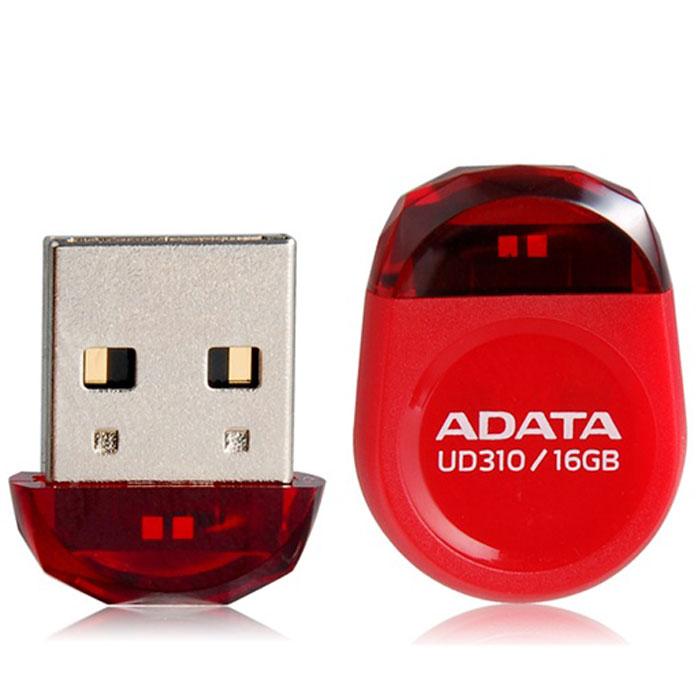 ADATA UD310 16GB, Red USB-накопительAUD310-16G-RRDADATA UD310 - это удобное и прочное устройство хранения данных, изготавливаемое по современной технологии кристалл-на-плате (СОВ), которая гарантирует идеальную водостойкость и защиту данных. Миниатюрную, в форме драгоценного камня, флэшку UD310 можно оставить вставленной в ультрабук или ноутбук надолго, она не будет ни за что зацепляться.Искрящийся корпус , в форме ограненного бриллианта, подчеркивает ультракомпактную и сверхпортативную конструкцию флэшки UD310, занимающей минимум места при её использовании в переносном или настольном компьютере. Возможность без ограничений обмениваться вашими видео, музыкальными и графическими файлами делает UD310 идеальным аксессуаром для компьютеров ультрабук и множества других тонких и сложных электронных устройств, при этом в любое время гарантирующим защиту ваших бесценных данных.