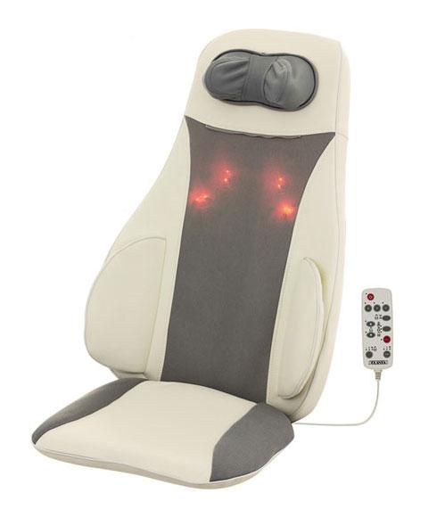 Массажная накидка PLANTA MN-900WMN-900WМассажная накидка Planta MN-900W (с автоадаптером) разработана с учетом анатомических особенностей человеческого тела. Массажная накидка на кресло предназначена для использования дома, в офисе, в автомобиле. Она станет великолепным решением для тех, у кого нет времени на посещение массажного кабинета. Усовершенствованный механизм, благодаря которому достигается эффект профессионального расслабляющего массажа спины и области шеи, удобство использования, возможность подогрева и регулировки интенсивности массажа - все это характеристики стильной современной модели массажной накидки MN-900W c 5D-массажем. Одна из основных особенностей массажной накидки MN-900W c 5D-массажем - возможность максимально точно имитировать массаж шиацу. Массаж шиацу - одна из разновидностей японской мануальной терапии, которая в последние годы стала популярной во всем мире как один из эффективных способов лечения и профилактики различных заболеваний. Специальные...