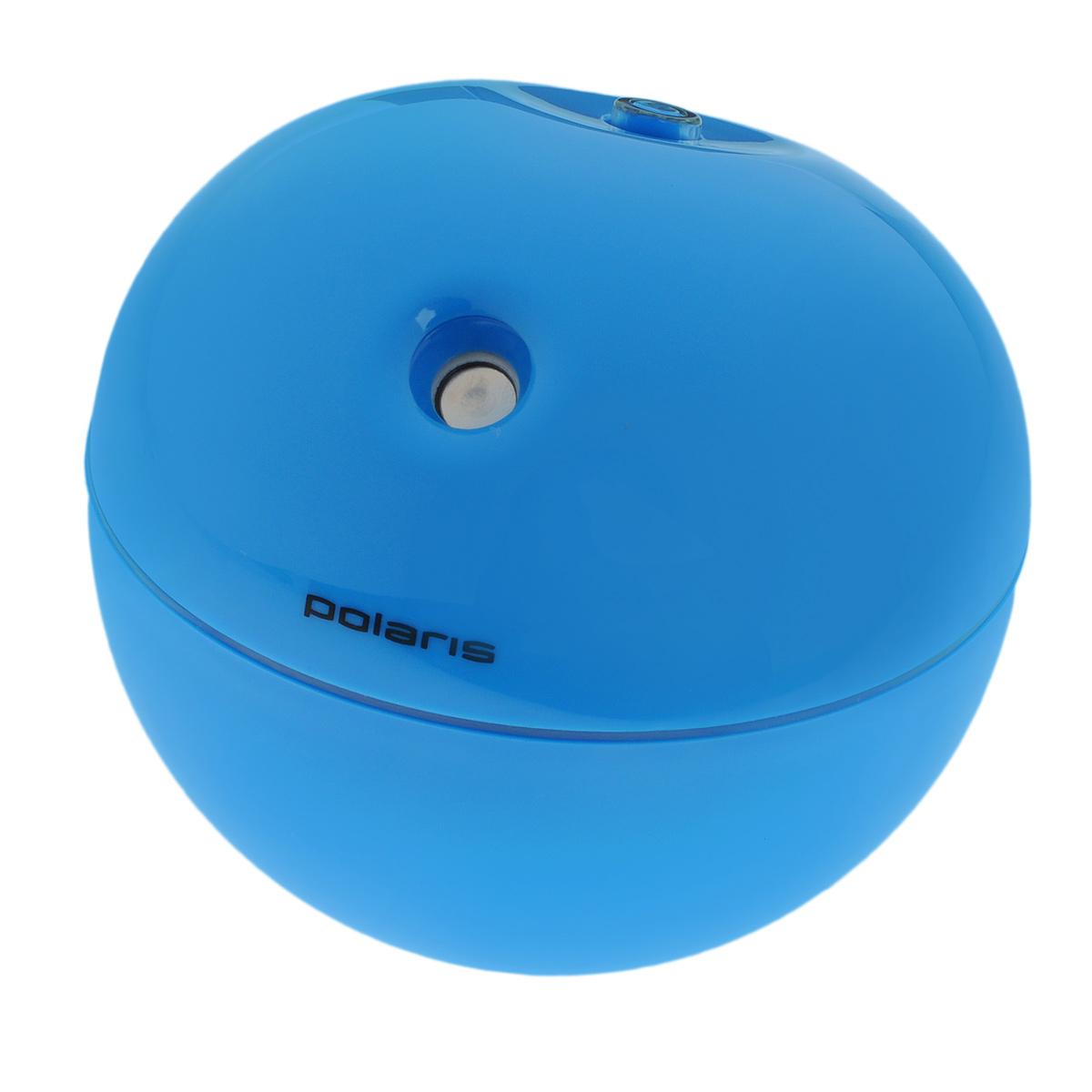 Polaris PUH 3102 Apple, Blue увлажнитель воздухаPUH 3102appleПортативный персональный ультразвуковой увлажнитель воздуха Polaris PUH 3102 Apple. Данная модель сочетает в себе функции увлажнения воздуха с уникальным дизайном в форме яблока. Его можно использовать в доме, офисе или в путешествии. Работает при помощи USB-порта.