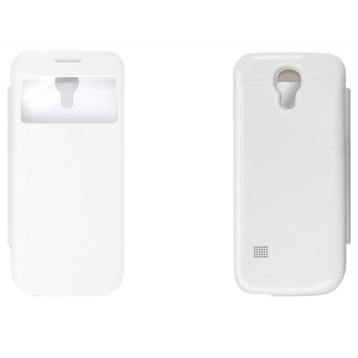 EXEQ HelpinG-SF04 чехол-аккумулятор для Samsung Galaxy S4 mini, White (2200 мАч, флип-кейс)HelpinG-SF04 WHExeq HelpinG-SF04 – элегантный аксессуар для Samsung Galaxy S4 Mini, идеально сочетающий в себе надежный чехол и дополнительный аккумулятор. Как чехол HelpinG-SF04 надежно защитит смартфон от загрязнений, царапин и ударов. Причем надежная защита будет обеспечена не только задней и боковым панелям телефона, но и дисплею - чехол оснащен специальной откидной крышкой Smart-cover, которая не только защитит дисплей, но и позволит регулировать работу экрана. Как внешний аккумулятор с емкостью в 2200 мАч HelpinG-SF04 способен увеличить время работы смартфона в два раза, обеспечив дополнительную подпитку батареи в самые необходимые моменты. При этом чехол-аккумулятор имеет настолько компактные размеры, что его подсоединение практически не повлияет на габариты самого смартфона. Конструкция чехла предусматривает удобный доступ ко всем элементам управления смартфона, камере, встроенному микрофону и динамику. Даже зарядку телефона можно осуществлять непосредственно ...