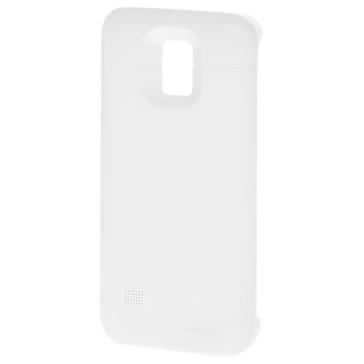 EXEQ HelpinG-SC09 чехол-аккумулятор для Samsung Galaxy S5 mini, White (3300 мАч, клип-кейс)HelpinG-SC09 WHExeq HelpinG-SC09 – компактный и надежный чехол-аккумулятор для Samsung Galaxy S5 mini. Как чехол Exeq HelpinG-SC09 надежно защитит заднюю панель вашего смартфона от ударов, царапин и загрязнений, как внешний аккумулятор с емкостью в 3300 мАч Exeq HelpinG-SC09 обеспечит дополнительную подпитку батареи смартфона в самые необходимые моменты. При этом чехол-аккумулятор имеет настолько компактные размеры, что его подсоединение практически не повлияет на габариты самого смартфона. Да и весит чехол с аккумулятором всего 69 г, что также не сильно утяжелит Ваш любимый смартфон. В качестве приятного дополнения Exeq HelpinG-SC09 имеет выдвижную подставку. Специальная конструкция чехла с выдвижной верхней частью позволит удобно и надежно поместить телефон в чехол, а при необходимости, легко и быстро достать телефон из чехла. Хотя извлекать телефон из надежного аксессуара вам вряд ли понадобится – заряжать телефон можно непосредственно в чехле, подключив к нему зарядное...