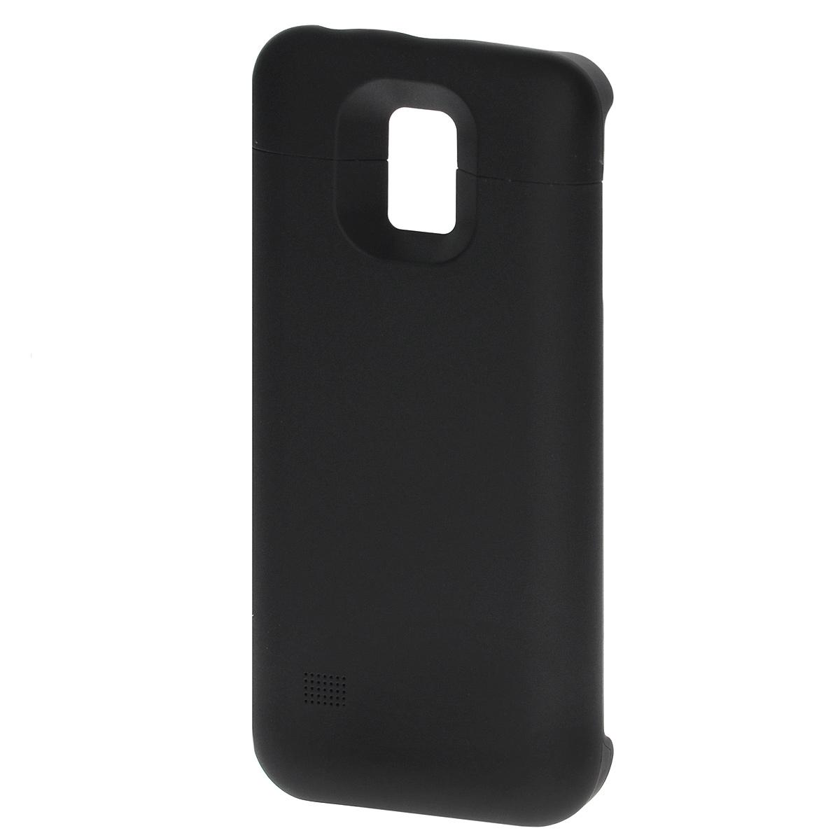 EXEQ HelpinG-SC09 чехол-аккумулятор для Samsung Galaxy S5 mini, Black (3300 мАч, клип-кейс) холодильник indesit ef 16 d двухкамерный белый