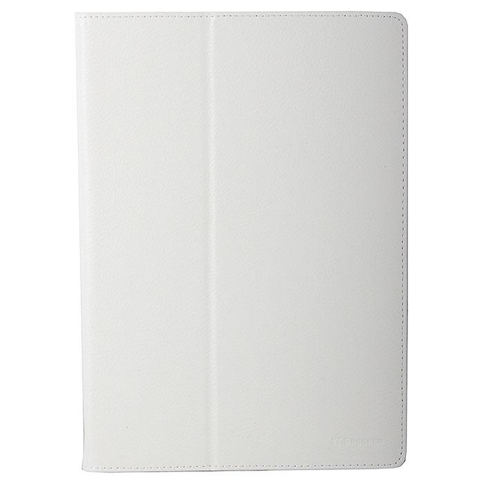 IT Baggage чехол для Lenovo IdeaTab 10.1 S6000, WhiteITLNS6000-0IT Baggage для Lenovo IdeaTab 10.1 S6000 - удобный и надежный чехол, который надежно защищает ваше устройство от внешних воздействий, грязи, пыли, брызг. Конструкция точно повторяет форму планшета, оставляя открытыми активную область сенсорного экрана и разъемы устройства. Плотная крышка имеет ребро жесткости, позволяющее использовать ее как подставку для фиксации планшета в горизонтальном положении.