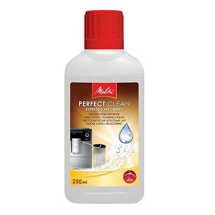 Melitta Perfect Clean очиститель молочной системы для кофемашин1500729Очиститель Melitta Perfect Clean для молочных систем автоматических кофемашин легко и тщательно очищает систему от частиц молока. Высокоэффективная формула гарантирует кристальную чистоту и в то же время очень бережно обрабатывает поверхность молочной системы автоматических кофемашин.