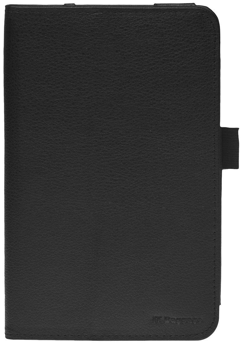IT Baggage чехол для Lenovo Idea Tab 7 A7-30 (A3300), BlackITLNA3302-1Чехол IT Baggage для планшета Lenovo Idea Tab 7 A7-30 (A3300) - это стильный и лаконичный аксессуар, позволяющий сохранить планшет в идеальном состоянии. Надежно удерживая технику, обложка защищает корпус и дисплей от появления царапин, налипания пыли. Имеет свободный доступ ко всем разъемам устройства. В комплект к чехлу IT Baggage для Lenovo Idea Tab 7 A7-30 (A3300) входит непромокаемый футляр.