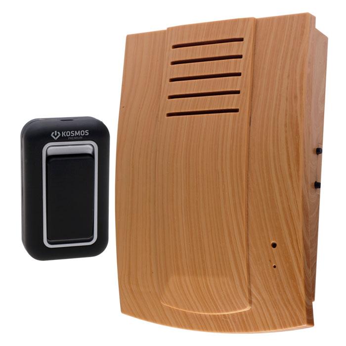 Беспроводной звонок Kosmos Premium. KOC_690KOC_690Беспроводной звонок Kosmos Premium - это современное многофункциональное устройство вызова. Он может применяться как дверной звонок в квартире, на даче, в коттедже или как индивидуальное устройство вызова. Беспроводной звонок защищен помехоустойчивой системой, что позволяет предотвратить ложные звонки и исключить влияние других беспроводных звонков друг на друга. Особенности беспроводного звонка Kosmos Premium: 3-х позиционная регулировка громкости, 25 полифонических мелодий, 4-х тональная полифония нового уровня, Технология CFC (система изменения частотных каналов) исключает одновременное срабатывание нескольких звонков, Высокомощный динамик 1W (в 5 раз мощнее стандартного динамика), Беспроводной сигнал на расстоянии 100 метров. Необходимо докупить 3 батарейки типа АА. В комплект не входят.