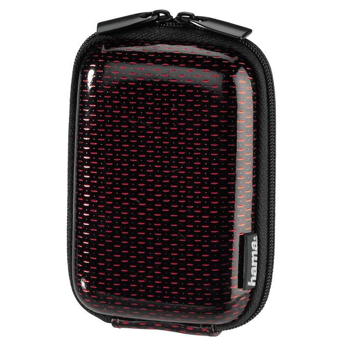 Hama Hardcase Glossy 40G, Black чехол для фотокамеры023154Сумка Hama Hardcase Glossy 40G для цифровой фотокамеры. Имеет отделение для карт памяти и аксессуаров, ремешок для переноски. Также оснащена петлей для ношения на поясе. Прочный материал.