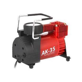 """Компрессор автомобильный """"Autoprofi AK-35"""", металлический, производительность 35 л/мин, 12В, 150Вт"""