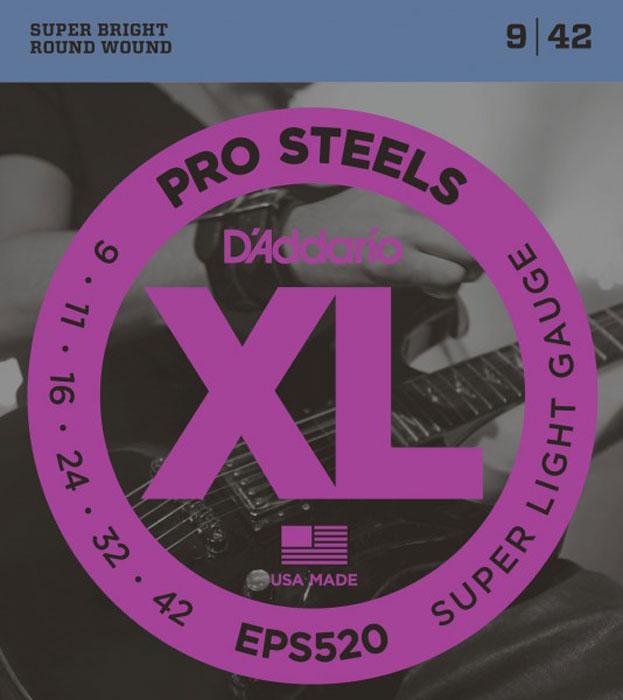 D'Addario EPS520 струны для электрогитары