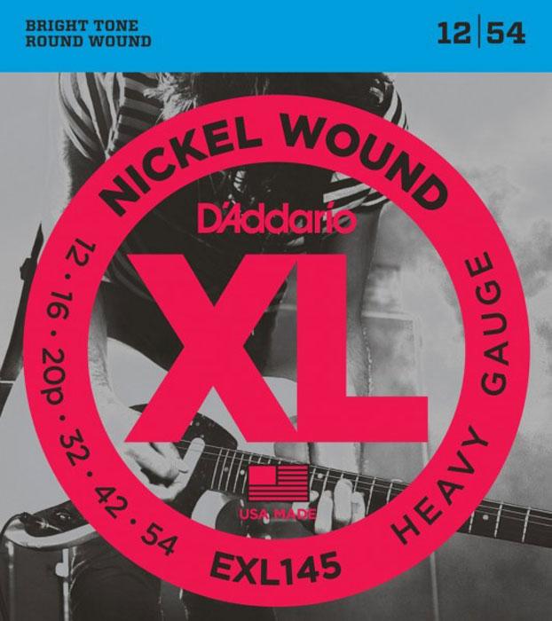 D'Addario EXL145 струны для электрогитары