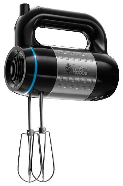 Russell Hobbs 20200-56 Illumina миксер20200-56Ручной миксер Russell Hobbs 20200-56 обладает мощным, 500 Вт мотором и поставляется с крюками и венчиками из нержавеющей стали. Кроме того, миксер невероятно привлекательный, с полированной отделкой и вставками из нержавеющей стали. Уникальное сочетание технологий и материалов делает миксер невероятно простым и приятным в пользовании.