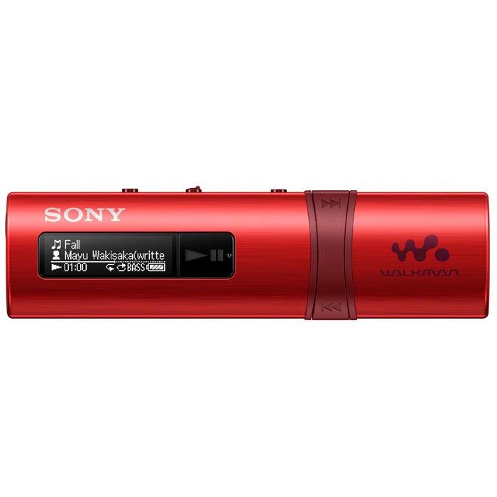 Sony NWZ-B183F, Red MP3-плеер4905524971545