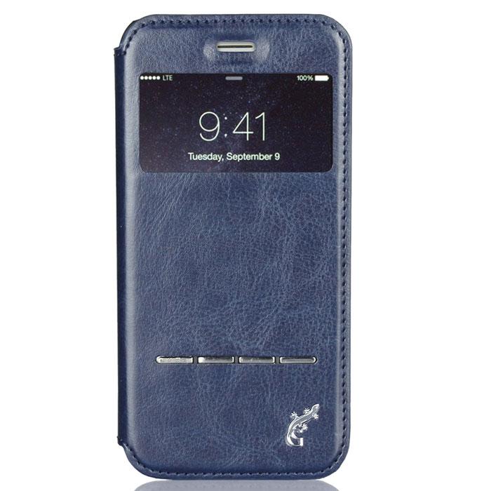 G-Case Slim Premium чехол для iPhone 6 Plus, Dark BlueGG-548С каждым новым поколением электронных устройств планшеты становятся технически более мощными, интеллектуальными аксессуарами с массой функций и возможностей. Однако их прочность оставляет желать лучшего. Именно поэтому нужно сразу позаботиться о защите от ударов и прочих повреждений своего гаджета и купить чехол G-Case Slim Premium для iPhone 6 Plus. Только тогда можно спать спокойно и быть уверенным в полной сохранности своего электронного друга. Благодаря тщательной продуманности конструкции вплоть до мельчайших деталей футляр становится изысканным и стильным аксессуаром и дополнением к айфону. Модный и практичный флип-кейс, благодаря высококачественному и прочному материалу, обеспечивает стопроцентную ежедневную защиту устройства от проникновения внутрь корпуса влаги, налипания на дисплей грязи и скапливания пыли. Все, что нужно для защиты планшета от ударов и падений, так это купить чехол G-Case Slim Premium. Комфорт пользования очевиден. Это и свободный доступ...