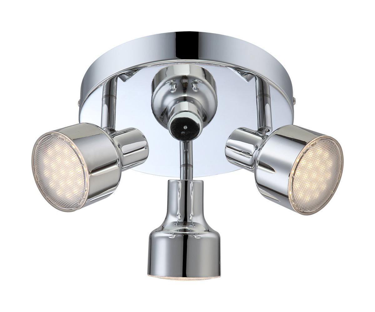 56213-3 ROIS Спот56213-3Споты ROIS 56213-3 в стиле модерн способны довершить образ вашей кухни. Металлическое основание серого цвета, плафон изготовлен из пластика. Точечный светильник с максимальной мощностью 12W осветит комнату, площадью 2 кв.м.