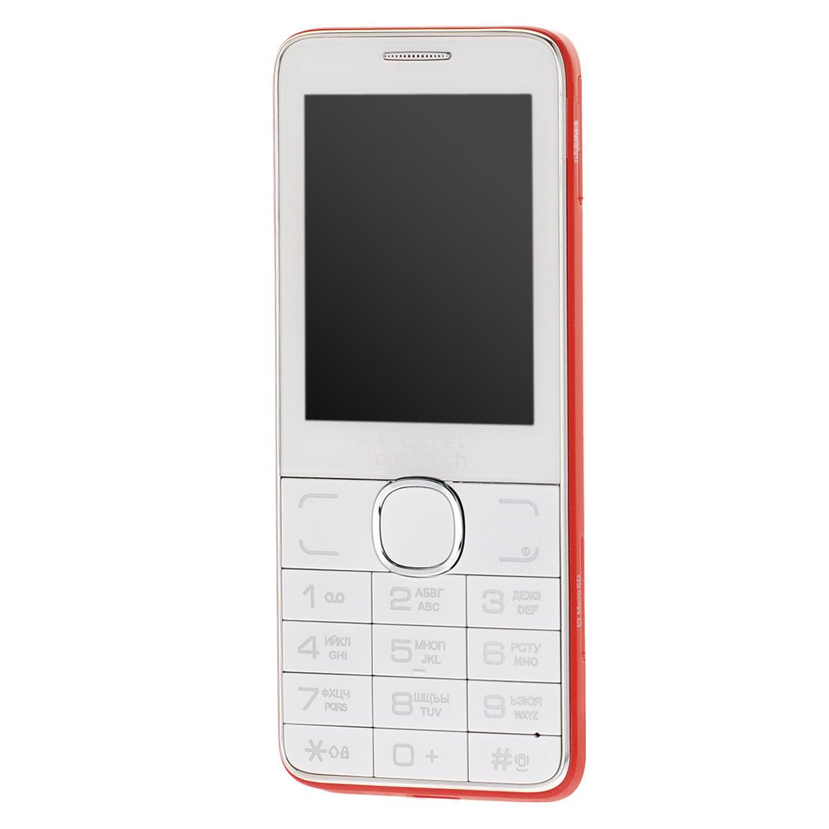 Alcatel OT-2007D Dual Sim, White Red