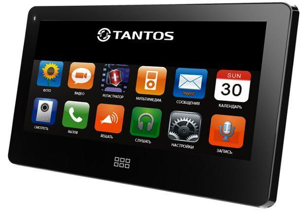 Tantos NEO Slim, Black монитор видеодомофона00-00016192Видеодомофон с 7 сенсорным дисплеем (touch screen) сверх тонкий корпус!Русифицированное экранное меню, простое управление функциямиИнтерком, режим прослушивания других мониторов, функция общего вызоваПоддержка micro SD карты, встроенный DVR с детектором движения, автоответчик (micro SD)Поддержка мультимедиа: фоторамка, воспроизведение музыки. Цвет корпуса: белый или черныйПитание: пассивное PoE, вынесенный блок питания нового поколения удобно размещается в распаечной коробке или электро щитке. (220В/15В)