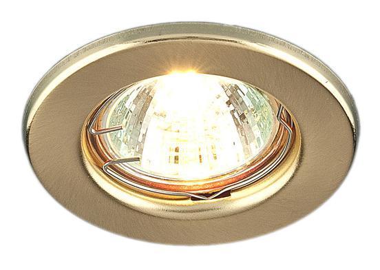 Точечный светильник Elektrostandard 9210 SG (золото матовое)