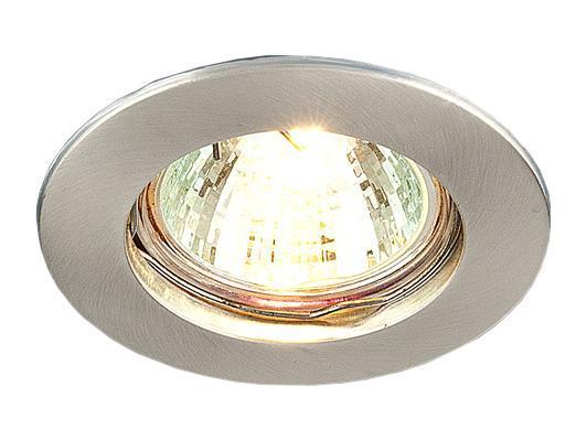 Точечный светильник Elektrostandard 863A SS (сатин. серебро)