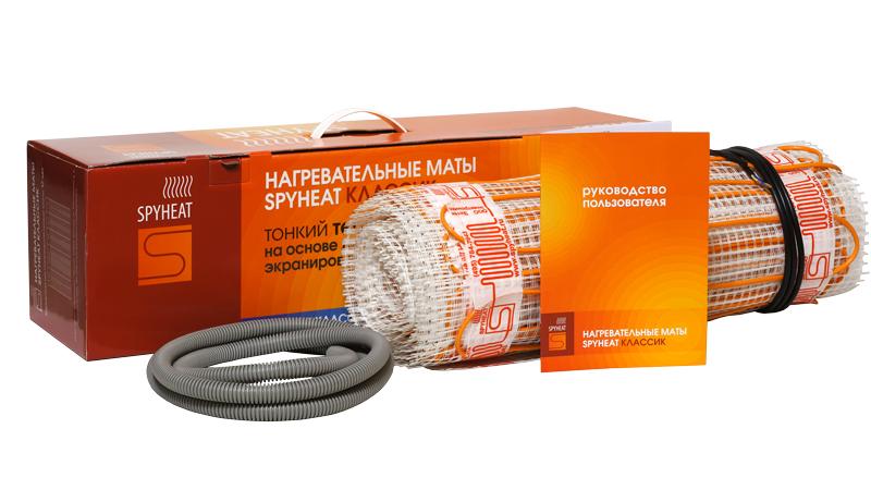 """Набор монтажный Spyheat """"Классик"""", тонкий, теплый пол, 375 Вт, 2,5 м2 SHMD-8-375"""